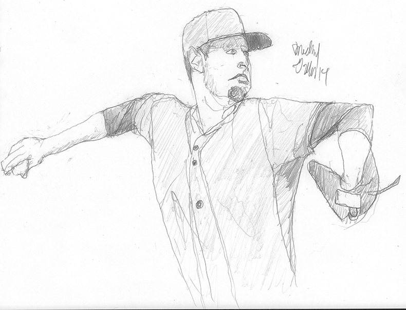 Zack Wheeler - photo ref used from game picture by Patrick Smith/Getty Images