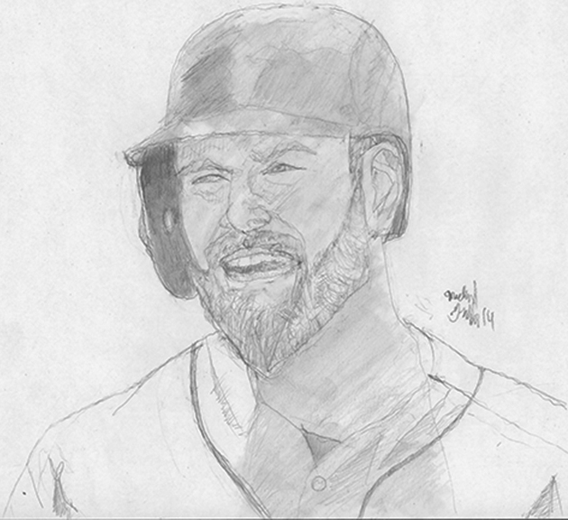 If Duda doesn't hit like he did in 2014, the rest of the lineup suffers. (Photo ref used for drawing)